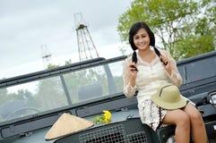 Indonesian bridal  prewedding photoshoot Royalty Free Stock Photo