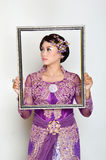 Indonesian bridal Stock Image