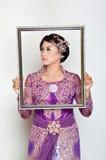 Indonesian bridal Stock Image