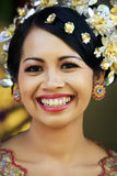 Indonesian bride Stock Image