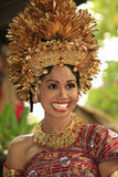 Indonesian bride Royalty Free Stock Photo