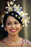 Indonesian bride Royalty Free Stock Image