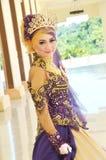 Indonesian bride Stock Photo