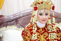 Indonesian bride Stock Photos