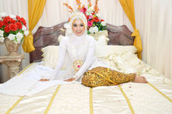 Indonesian bride Royalty Free Stock Images