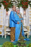 Indonesian bride and groom Royalty Free Stock Image
