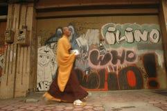 INDONESIAN BUDDHISM. Indonesian Buddhists are doing ritual according to the teachings of Siddharta Buddha Gautama, at Java, Indonesia. First came to Nusantara royalty free stock image