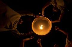 INDONESIAN BUDDHISM. Indonesian Buddhists are doing ritual according to the teachings of Siddharta Buddha Gautama, at Java, Indonesia. First came to Nusantara stock photography