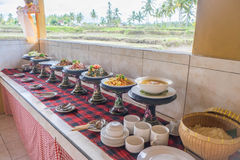 Indonesian buffet Stock Images