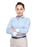 Indonesian business woman Royalty Free Stock Image