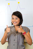Indonesian Businesswoman in agency Stock Photos
