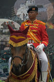 Indonesian cavalry soldier Stock Photos