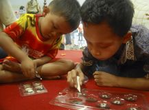 INDONESIAN CHILDREN PROBLEM Stock Images