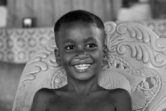Indonesian children smiling Royalty Free Stock Photo
