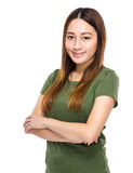 Indonesian Chinese mixed woman portrait Stock Photo