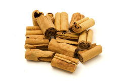 Indonesian Cinnamon quill Stock Photo