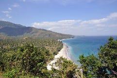 Indonesian coast. Coast on Lombok island. Indonesia Stock Photography
