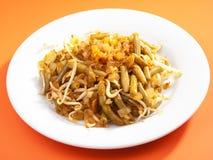 Indonesian cuisine - beans with soya sauce Stock Photos