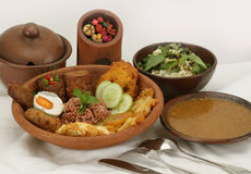 Indonesian cuisine Stock Images
