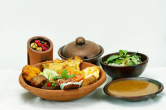 Indonesian cuisine Royalty Free Stock Photography