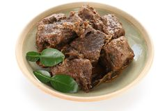 Rendang beef Stock Photography