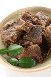 Rendang beef Royalty Free Stock Photo