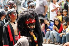 Indonesian Culture carnival Royalty Free Stock Photo