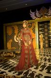 Indonesian Culture Fashion Show Stock Photo