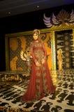 Indonesian Culture Fashion Show Stock Photo