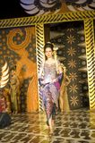 Indonesian Culture Fashion Show Royalty Free Stock Photo