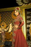 Indonesian Culture Fashion Show Stock Photos