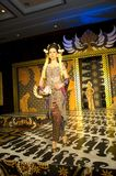Indonesian Culture Fashion Show Royalty Free Stock Photography