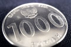 Indonesian currencies stock image