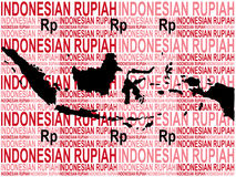 Indonesian currency Stock Images