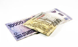 Indonesian Currency Royalty Free Stock Photos