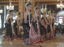 INDONESIAN DANCE DIVERSITY Royalty Free Stock Images