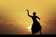Indonesian dance Stock Images