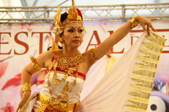 Indonesian dancer Royalty Free Stock Images
