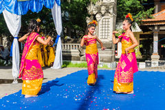Indonesian dancers Stock Image
