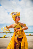 Indonesian dancers Stock Images
