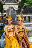 Indonesian dancers Royalty Free Stock Images