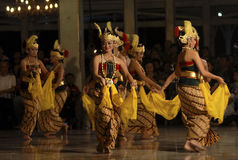 INDONESIAN DANCING STYLE Royalty Free Stock Photos