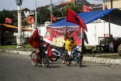 INDONESIAN DEMOCRATIC PARTY OF STRUGGLE PROFILE Stock Images