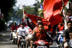 INDONESIAN DEMOCRATIC PARTY OF STRUGGLE PROFILE Royalty Free Stock Images