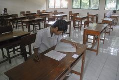 INDONESIAN EDUCATION CHALLENGE Stock Images