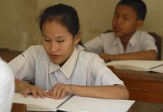 INDONESIAN EDUCATION CHALLENGE Royalty Free Stock Photos