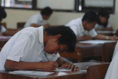 INDONESIAN EDUCATION CHALLENGE Royalty Free Stock Image