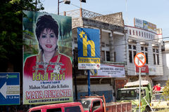 Indonesian election transparent Royalty Free Stock Photo