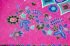 Indonesian fabric design Royalty Free Stock Image