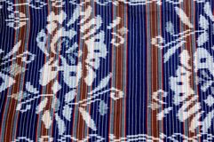 Indonesian fabric design details Royalty Free Stock Photos